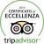 L'Hotel-Residence Arianna Club riceve il certificato di eccellenza Tripadvisor 2016